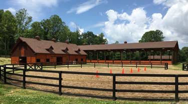 Rockbrook Camp Riding Center